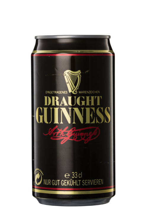 [Guinness Draught in Can and Bottle]